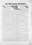Mountainair Independent, 01-02-1919 by Mountainair Printing Company