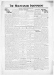 Mountainair Independent, 03-13-1919 by Mountainair Printing Company