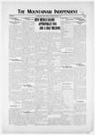 Mountainair Independent, 03-27-1919 by Mountainair Printing Company