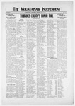 Mountainair Independent, 05-08-1919 by Mountainair Printing Company