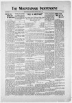 Mountainair Independent, 05-22-1919 by Mountainair Printing Company