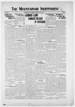 Mountainair Independent, 05-29-1919 by Mountainair Printing Company