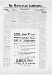 Mountainair Independent, 06-26-1919 by Mountainair Printing Company