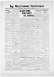 Mountainair Independent, 08-14-1919 by Mountainair Printing Company