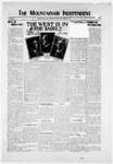 Mountainair Independent, 09-25-1919 by Mountainair Printing Company
