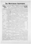 Mountainair Independent, 10-30-1919 by Mountainair Printing Company