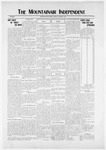 Mountainair Independent, 11-06-1919 by Mountainair Printing Company