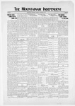 Mountainair Independent, 12-11-1919 by Mountainair Printing Company