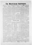 Mountainair Independent, 01-15-1920 by Mountainair Printing Company