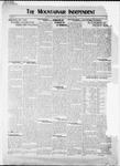 Mountainair Independent, 01-29-1920 by Mountainair Printing Company