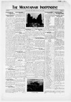 Mountainair Independent, 05-13-1920 by Mountainair Printing Company