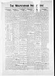 Mountainair Independent, 09-16-1920 by Mountainair Printing Company