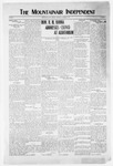 Mountainair Independent, 10-21-1920 by Mountainair Printing Company