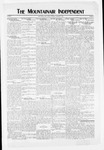 Mountainair Independent, 10-28-1920 by Mountainair Printing Company