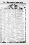 Mountainair Independent, 12-09-1920 by Mountainair Printing Company