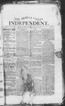 Mesilla Valley Independent, 09-01-1877 by Mesilla Valley Publishing Co.