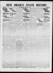 New Mexico State Record, 07-21-1916