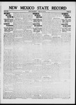 New Mexico State Record, 07-28-1916