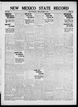 New Mexico State Record, 09-22-1916