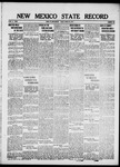 New Mexico State Record, 03-30-1917