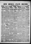 New Mexico State Record, 04-27-1917
