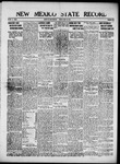 New Mexico State Record, 05-25-1917