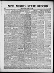New Mexico State Record, 07-13-1917
