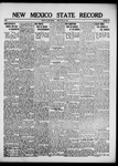 New Mexico State Record, 07-27-1917