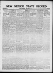 New Mexico State Record, 08-17-1917