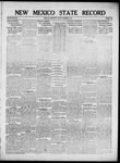 New Mexico State Record, 09-14-1917