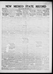 New Mexico State Record, 09-21-1917