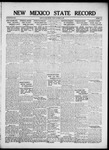 New Mexico State Record, 10-05-1917