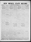 New Mexico State Record, 11-16-1917
