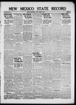 New Mexico State Record, 01-11-1918