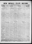 New Mexico State Record, 02-15-1918