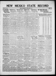 New Mexico State Record, 03-08-1918