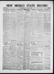 New Mexico State Record, 03-15-1918