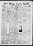 New Mexico State Record, 03-22-1918