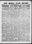 New Mexico State Record, 05-24-1918