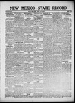 New Mexico State Record, 06-28-1918
