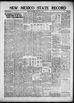 New Mexico State Record, 07-05-1918