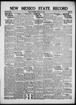 New Mexico State Record, 07-26-1918