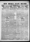 New Mexico State Record, 08-23-1918