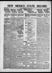 New Mexico State Record, 09-13-1918