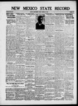New Mexico State Record, 10-18-1918