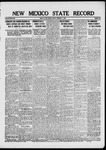 New Mexico State Record, 02-07-1919