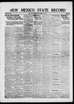 New Mexico State Record, 02-28-1919