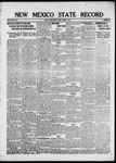New Mexico State Record, 03-07-1919