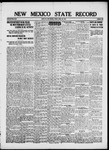 New Mexico State Record, 04-25-1919