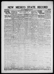 New Mexico State Record, 05-23-1919